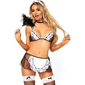💋Naughty French Maid Lingerie Set💋